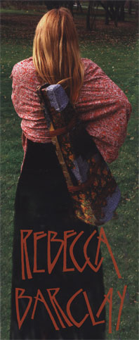 photo of Rebecca Barclay Canadian Traditional Musician